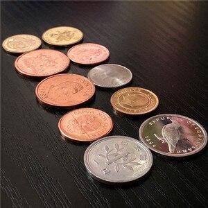 10 монет из 10 разных стран, НАСТОЯЩИЕ Оригинальные монеты, страна, коллекционные предметы, Европейский, Азиатский, Африканский, американский подарок