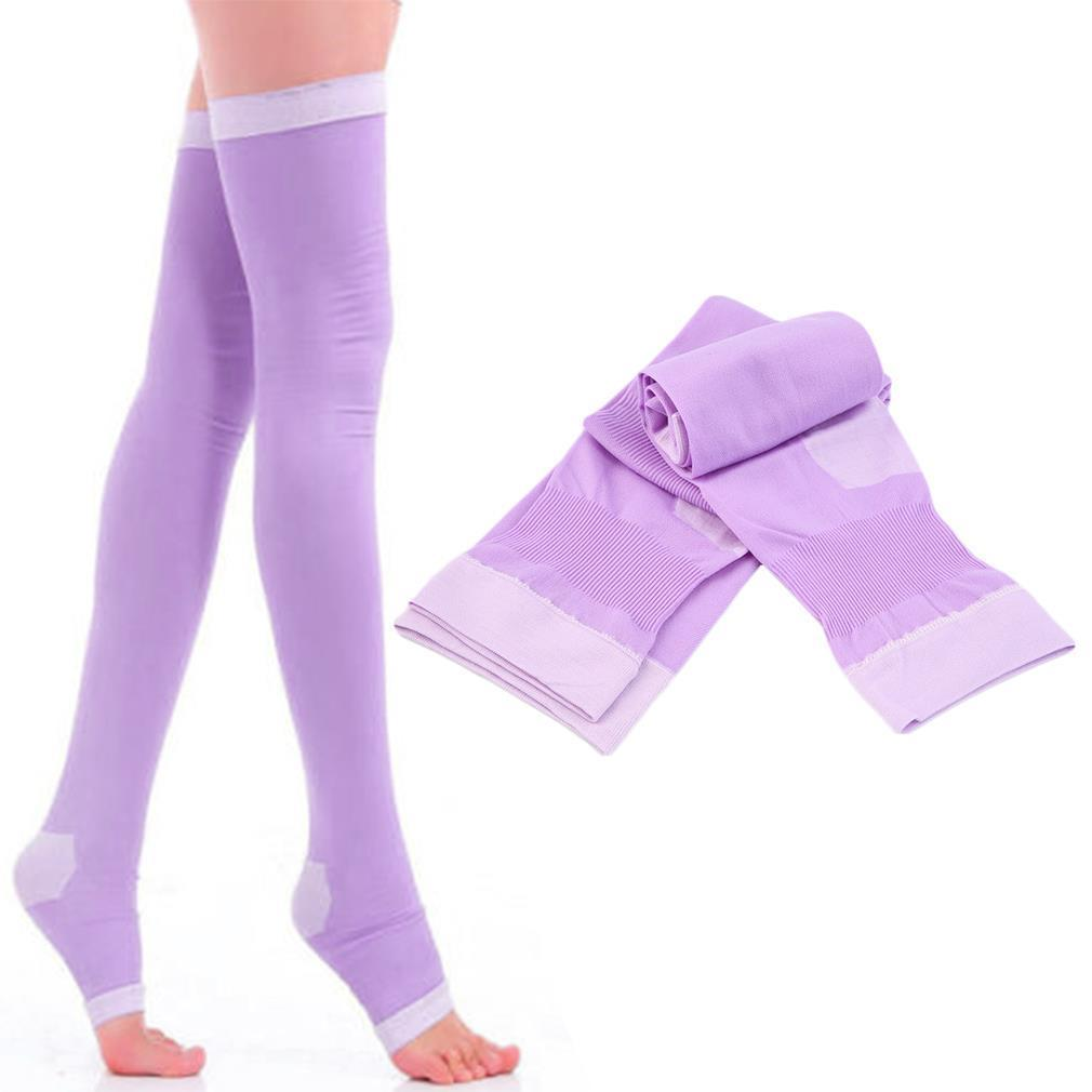 Anti-varicose Stocking Breathable Over Knee Socks Leg Slim ThighFat Burn Pantyhose For Girls Sleep Wearable Prevent Varicose