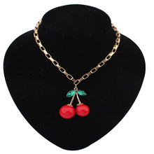 Wholesale Fashion lovely cherry Necklaces & Pendants Necklace Jewelry