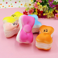 20pcs New Hello Kitty Bow Tie Jumbo 10cm Mobile Phone Straps Charm Squishy