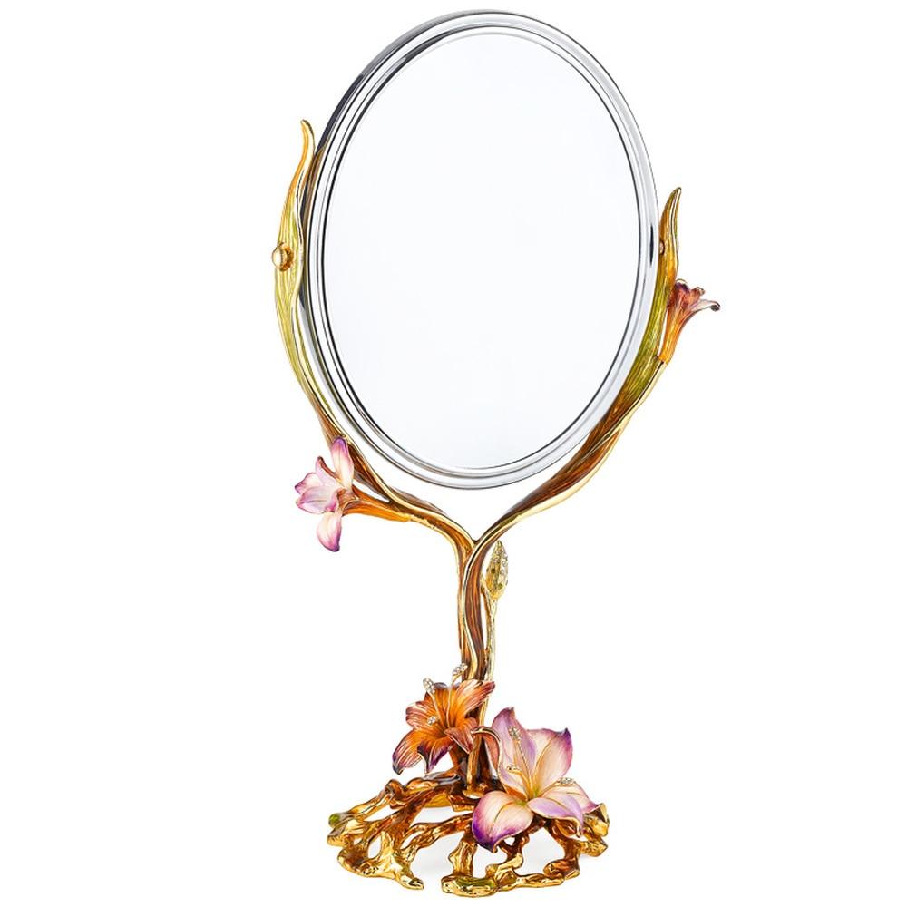 A1 European creative retro dressing mirror wedding gift dressing table mirror makeup mirror LO727306 цены