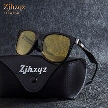 ZJHZQZ Новые Модные поляризованные мужские и женские Солнцезащитные очки женские брендовые дизайнерские цветные очки с покрытием ночного видения зеркальные солнцезащитные очки для вождения