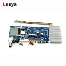 DIY Kits FM 5 watt 76 mt 108 mhz stereo PLL FM transmitter suite 7 watt maximale power frequenz einstellbar für hifi verstärker C5 008