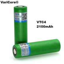 VariCore 100% Original 3.6V 18650 VTC4 2100mAh High drain 30A battery For Sony US18650VTC4 Electronic cigarettes
