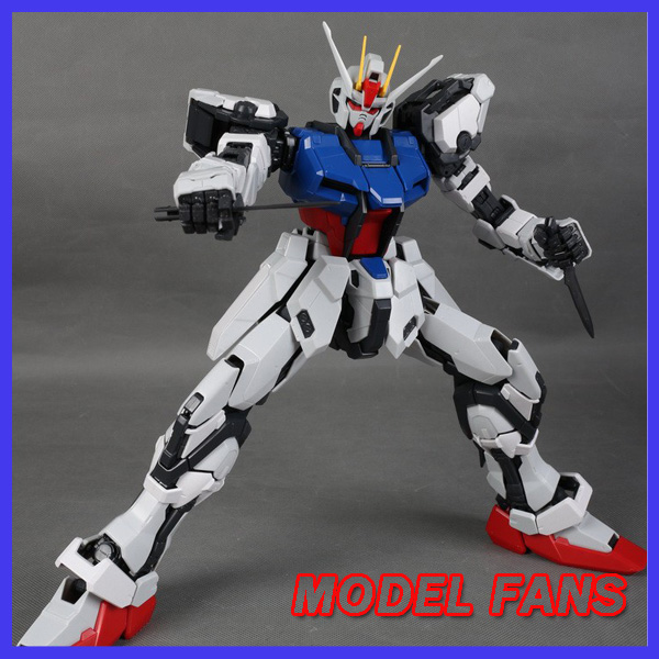 MODEL FANS DABAN Gundam Model PG 1/60 SEED strike gundam Self assambled 30cm Toys For Boys RARE Gundam model fans m3 model pg 1 60 red heresy gundam special large sword backpack gift water paste free shipping