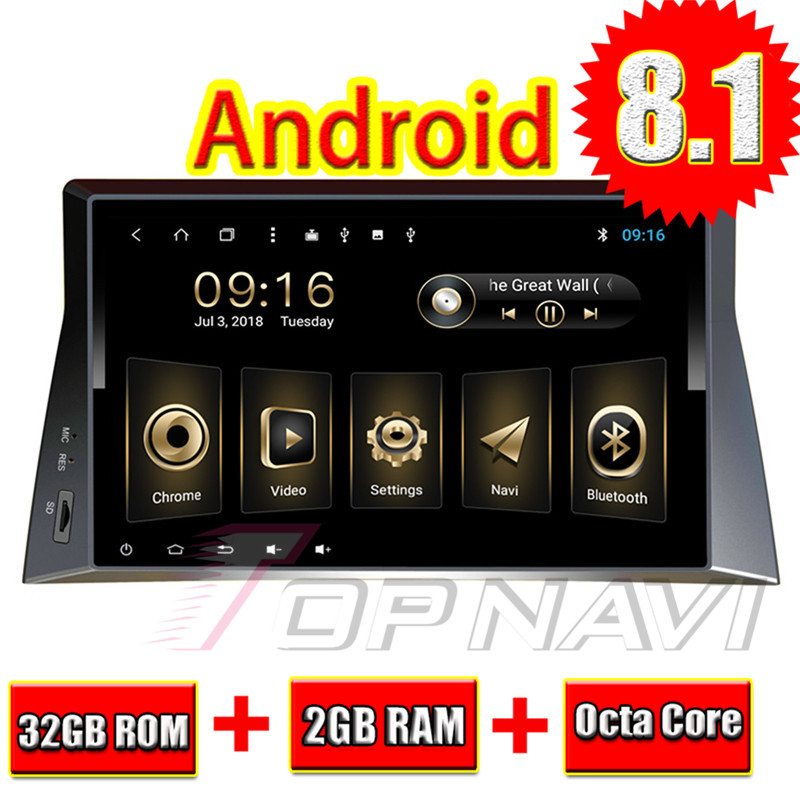 Car PC Navigation for Honda <font><b>Accord</b></font> 2007 <font><b>2008</b></font> 2009 2010 2011 2012 2013 10.1'' Topnavi Android 8.1 Full Memory capacity <font><b>GPS</b></font> Player image