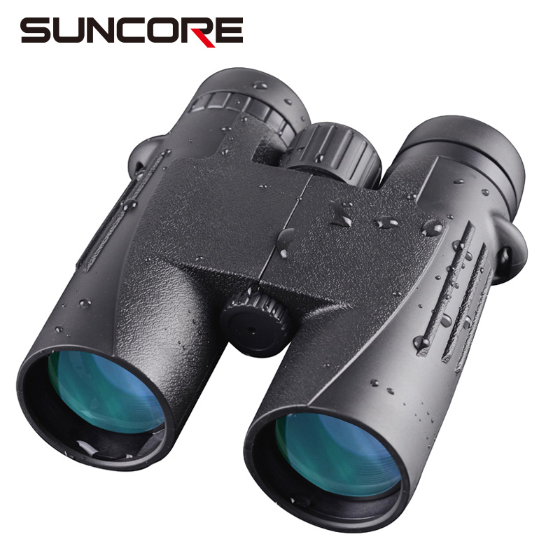 Military HD 10x42 Binoculars Professional Hunting Telescope Zoom High Quality Vision Long Range Waterproof Binocular 2018 new borwolf 8x36 binoculars high magnification hd professional zoom high clear telescope military night vision