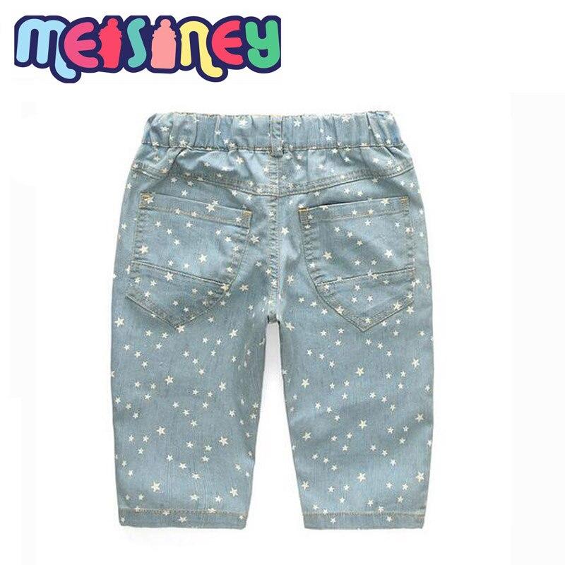 Baby boy children JEANS New Summer 2018 Korean five pants - Ubrania dziecięce - Zdjęcie 2