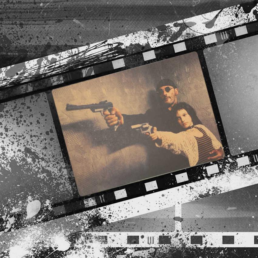 الفيلم الكلاسيكي ليون وماتيدا كرافت ورقة المشارك ديكور داخلي رسم الجدار ملصق اللوحة خلفية 36X51.5 سنتيمتر