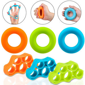 Finger Resistance bands rubber band Elastic band for Fitness Hand Grip Ring Expander Training Stretch Workout Fitness Equipment
