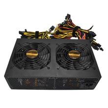 Yüksek Verimlilik ile Puan 3450 W Aktif PFC Güç Kaynağı 14 CM Düşük Gürültü Soğutma Hayranları için Bitcoin Madencilik Makine yüksek Performans