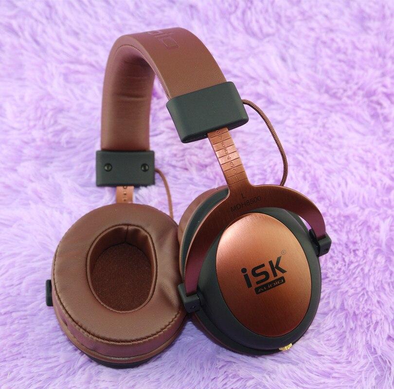 ISK MDH8500 véritable casque HIFI stéréo entièrement clos dynamique écouteur professionnel Studio casques Hifi DJ casque - 5