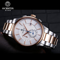 OCHSTIN Top Quartz Chronograph Watches Men Luxury Sapphire Crystal Glass Waterproof Stainless Steel Sport Wrist Watch Men Clock