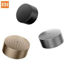 Оригинальная Беспроводная мини-Колонка Xiaomi, Bluetooth 4,0, портативная стереоколонка громкой связи, музыкальная квадратная коробка, колонка Mi, ау...