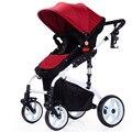 Alta Paisagem Boa Qualidade Carrinho de Bebê Carrinhos de Bebê Carrinhos Dobráveis À Prova de Choque da liga de Alumínio de Carro Do Bebê Portátil para Recém-nascidos C01