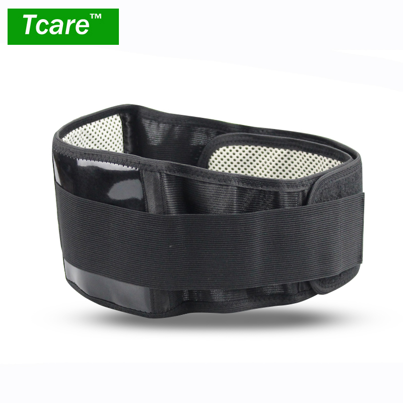 * Tcare Adjustable Tourmaline Self-heating Magnetic Therapy Waist Belt Lumbar Support Back Brace lumbar Waist Strap Health Care
