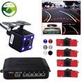 Mei jing trajetória do carro câmera de visão traseira com embutido motion sensor module + video estacionamento radar sistema de sensor de 16mm sensores