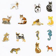 hot deal buy fashion cat dog animal patchwork patch embroidered patches for clothing iron-on for close shoes bags badges embroidery