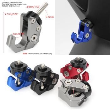 цена на NMAX155 Motorcycle Scooter Accessories Convenience Hook For YAMAHA NMAX 155 NMAX125 2015 2016 2017 2018 CNC Aluminum