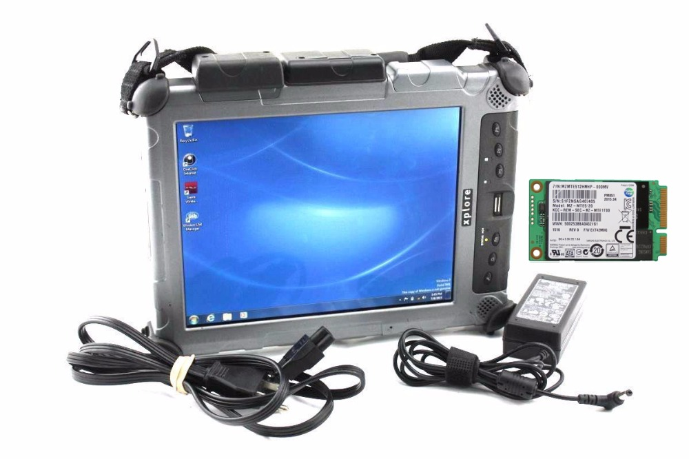 Rugged Tablet Best quality for Xplore Ix104 I7&4g Diagnostic Laptop installed well with mb star c4 software V2018.12 mb c5 star