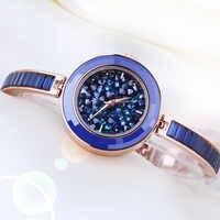 Volle Kristall Melisse Dame Damenuhr Japan Quarz Stunden Feine Mode Armband Luxus Strass Uhr Mädchen Geburtstagsgeschenk
