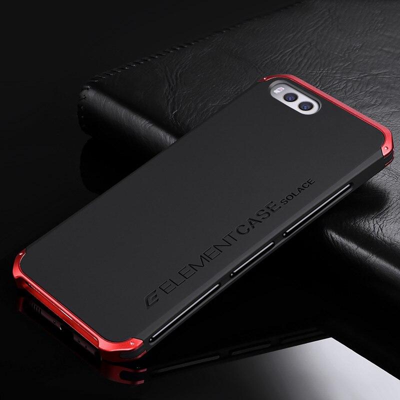 Elemento de lujo teléfono bolso Carcasas para Xiao mi 6 con el diseñador de alu mi nium y PC elemento para Xiao mi 6 (5.15