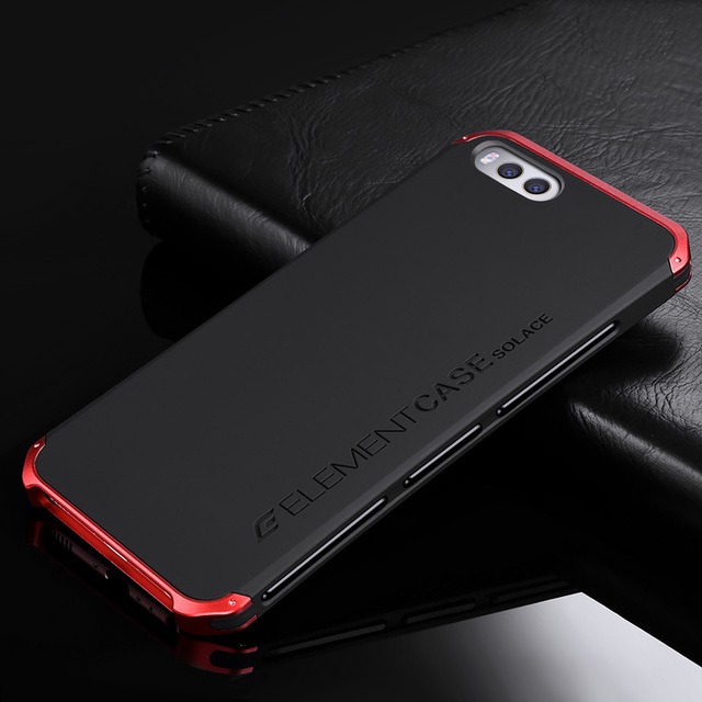 check out 0495d af8e7 US $18.8 |Luxury Element Phone Bag Cases for Xiaomi Mi6 with Designer's  Aluminium and PC Case Element For Xiaomi Mi 6 (5.15