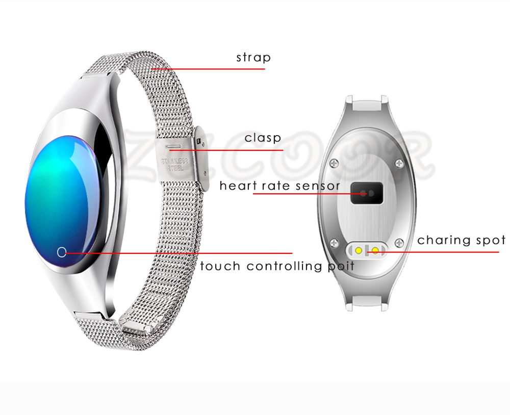 Smart Wristband Z18 Bluetooth Bracelet Blood Pressure Oxygen Heart Rate Monitor Waterproof Pedometer For iOS Android Women Men 12