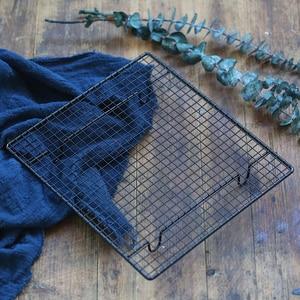 Image 5 - Подставка для торта с черной сеткой, для выпечки, хлеба, фотостудии