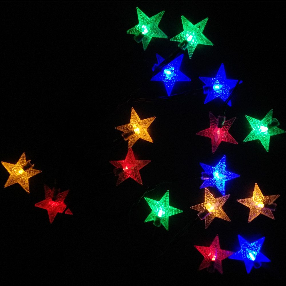 aliexpresscom buy yiyang led outdoor garden christmas lights star light for holiday xmas party new year decoration luces de navidad para exterior from