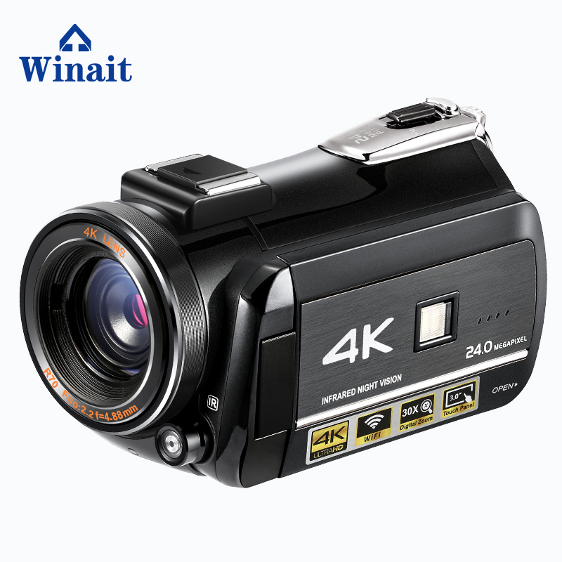 Winait 2018 hot sell home use good quality 4k digital video camera