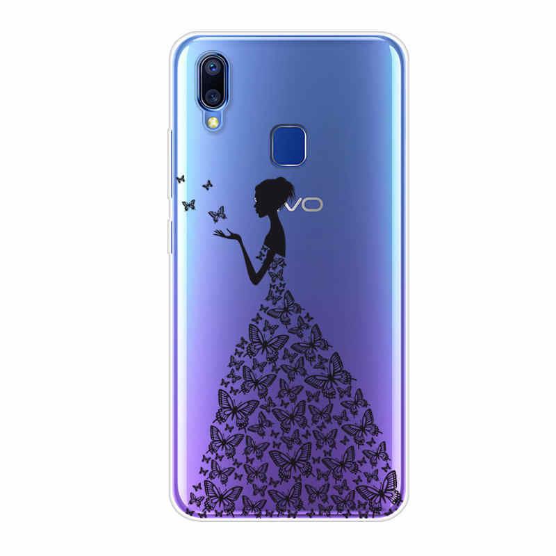 online store a3ef1 90295 Vivo Y91i Case Vivo Y91 Case Silicone Back Cover Phone Case For Vivo Y91  Y91i V1807 Y 95 91 i VivoY91 VIVOY91i Painting Case