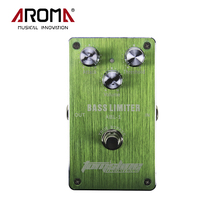 Aroma ABL-1 Bass Limiter Electric Bass Effect Pedal Aluminum Alloy Housing Ture Bypass Design