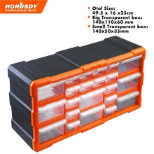 New 22 Drawers Storage Cabinet Tool Box Chest Case Plastic Organiser Toolbox Bin(China)