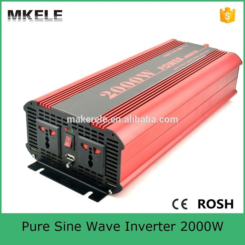 MKP2000-122R high efficiency dc to ac <font><b>pure</b></font> <font><b>sine</b></font> <font><b>wave</b></font> power <font><b>inverter</b></font> <font><b>12v</b></font> 220v <font><b>2000w</b></font> power <font><b>inverter</b></font> for household image