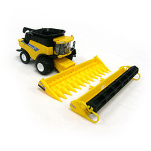 NEW HOLLAND CR960 COMBINE Harvester 13595 1 64 Scale Yellow Alloy ABS Agricultural Vehicles Collections Toys