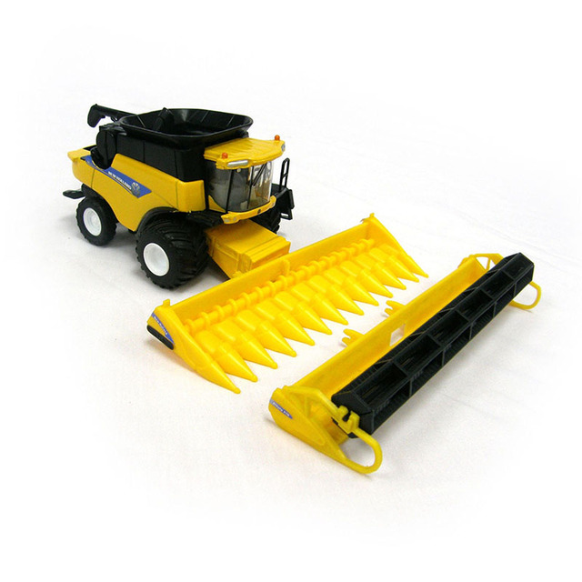 NEW HOLLAND CR960 COMBINE Harvester 13595 1/64 Scale Yellow Alloy ABS Agricultural Vehicles Collections Toys For Children