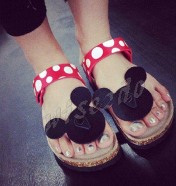 flip flops women cork slippers