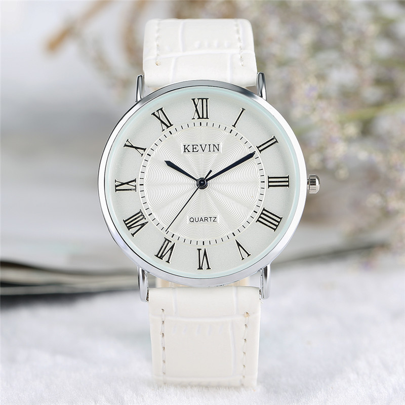 KEVIN Sporty Men Women Watch Simple Fashion Couple Watches Classic Roman Number Dial Business Male Female Dress Wristwatch Clock