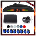 Parking 8 Senson Car Parking Assistant System LED Display & 8 Reversing Backup Sensors Bi Bi Alarm Sound Alert, Free Shipping