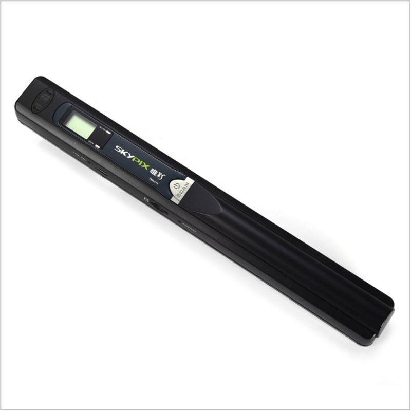 SKYPIX TSN415 900 DPI Handheld Portable Document Scanner JPEG / PDF / A4 Selection with Built-in Battery File Scanning Device