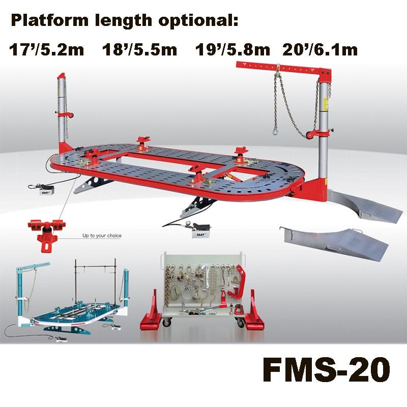 FMS 20 Auto girder kalibrator/karosserie richtbank/auto ...