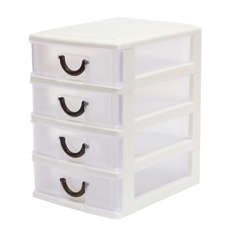 Drawer Durable Plastic Office Table Desktop Debris Cosmetic Drawer Style Holder Storage Box NShopping