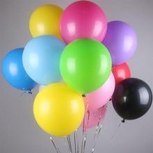 Multi-color and multi-spec holiday festive balloons 10 inch 12 wedding decoration party festival celebration matt balloon
