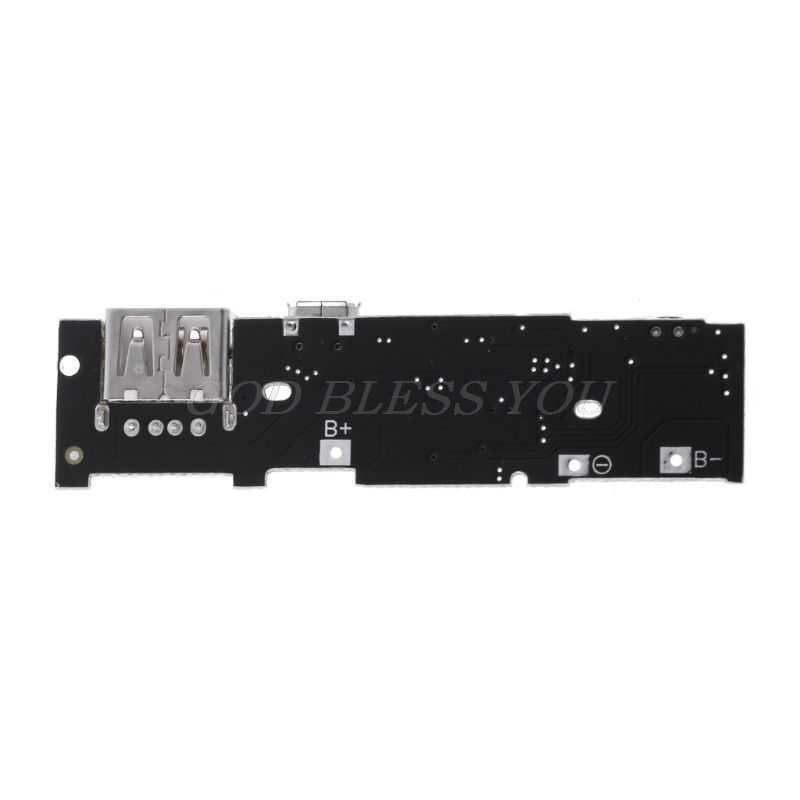 Módulo cargador tipo batería externa 5V 2.1A placa de carga PCB DIY batería de litio para Xiaomi Drop Shipping