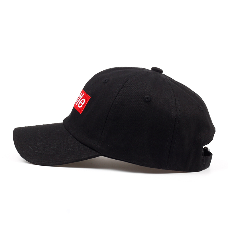 cdfae711d37 2018 new Hustle Box Logo Dad Hat Embroidered Baseball Cap Curved ...