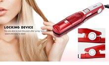 Паровой спрей для волос Kemei KM-3011, Керамический выпрямитель, волосы, aliborl, isee пучки волос, плоский утюг, электронный керамический турмалин