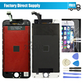 For iPhone 6 Plus lcd 5.5 display and touch screen digitizer assembly + tempered glass film + tools