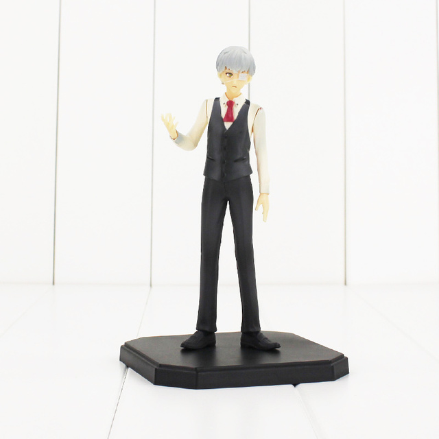 Tokyo Ghoul Kaneki Ken One-Eyed PVC Action Figure Toy Collectible Model Doll Toys 16cm