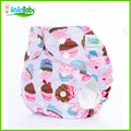 New Arrive Double Row Snaps Baby Diaper Accept Custom Order AIO Cloth Diaper With One Microfiber Inserts N-Series